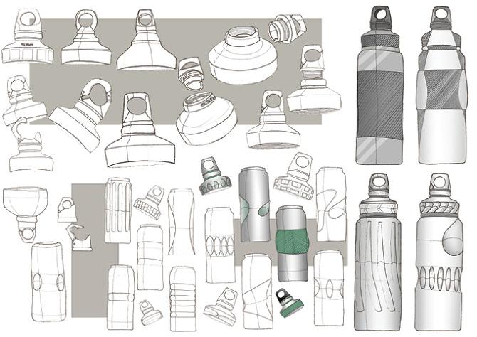 Sigg Water Bottle Redesign