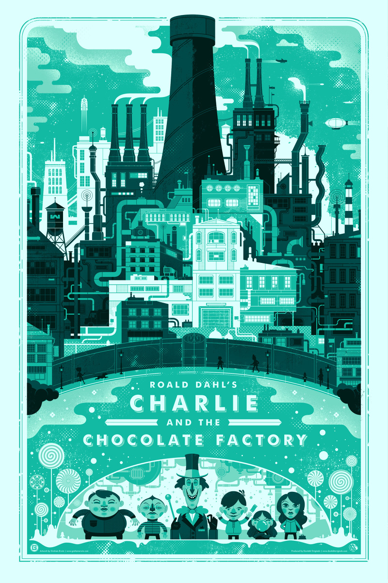 charlie and the chocolate factory graham erwin